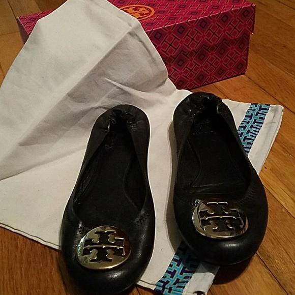 5d24659f873 Authentic Tory Burch Reba Ballet Shoes Size 8. M 5a4d4cb25512fd9cb602ae1b